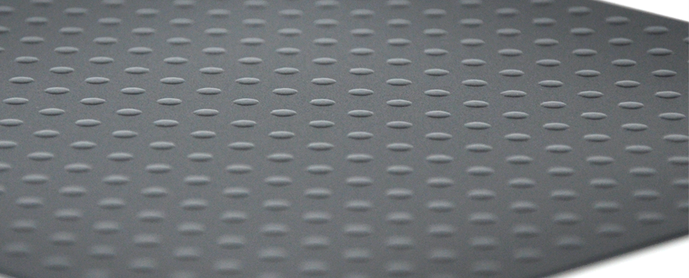 Polypropylene sheets varnish