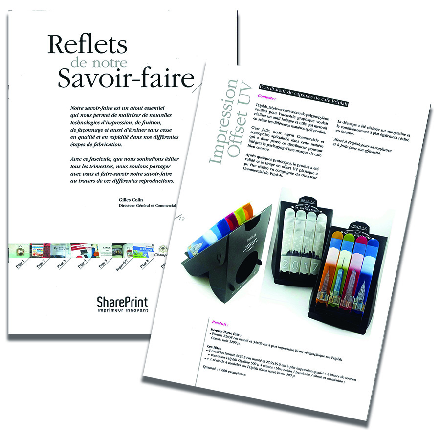 Catalogue Shareprint