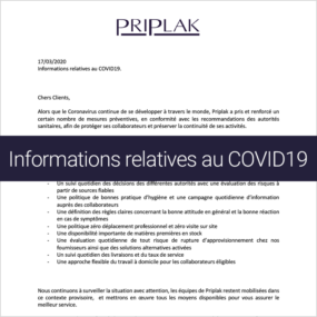 Priplak information COVID19 - fr-sq