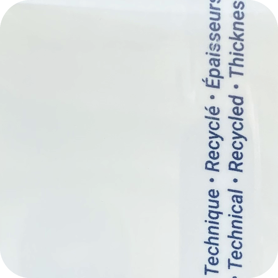 Priplak - Recycled - R100 Transparent